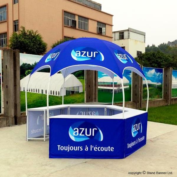 Portable Custom Printed Sales Tent