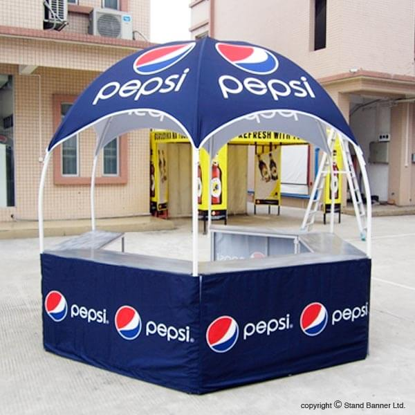 Printed Marketing Sampling Gazebo Tent