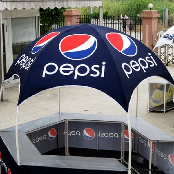 Printed Dome Gazebo Tent Canopy