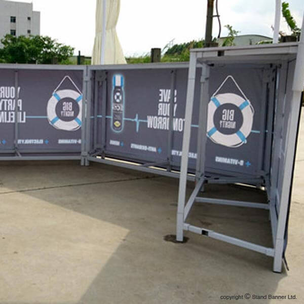 Portable Marketing Sales Promotion Tent Storage