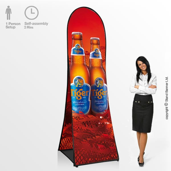 Vertical Pop Up Advertising Banners