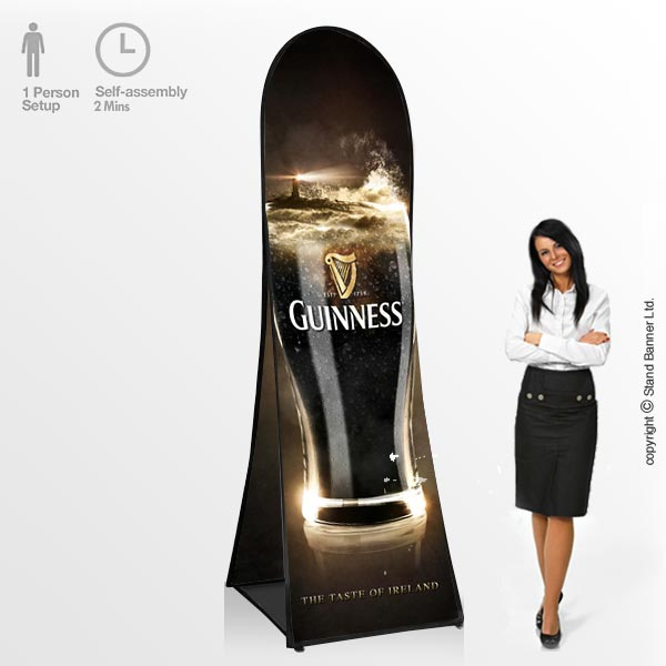 Freestanding Pop Up Advertising Banners