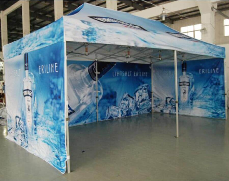 Branded Marketing Tent 3m X 3m Portable Sales Event Gazebo