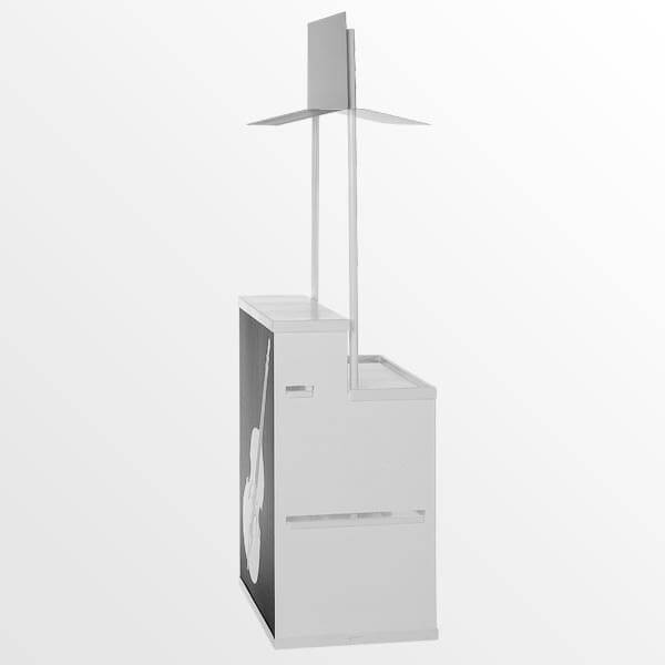 Vending Counter Side View