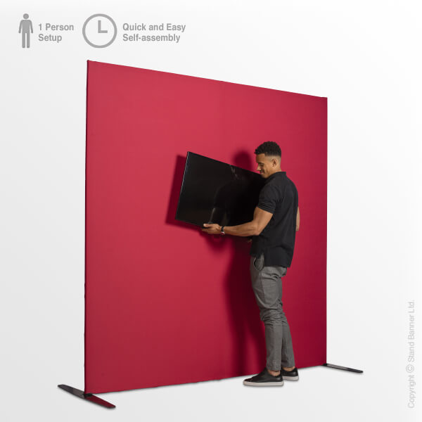 Exhibition Monitor Backdrop Mount