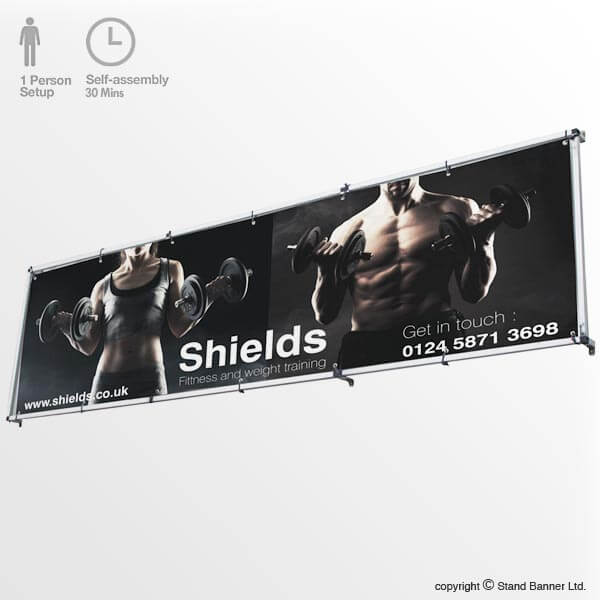 Wall Mounted Advertising Banner