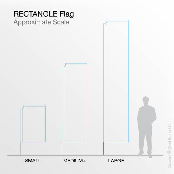 Rectangle Flag to Scale