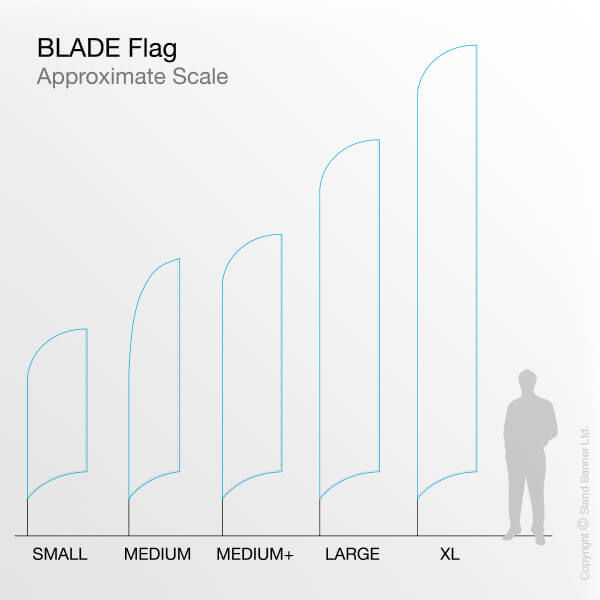 Blade Flag to Scale