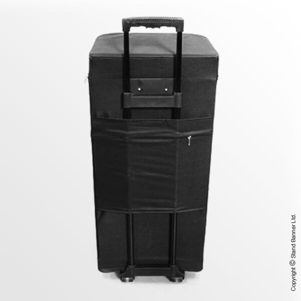 Wheeled Transit Case Back