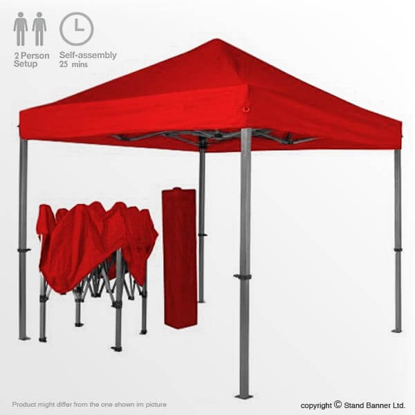 Portable Exhibition Tents : Branded marketing tent m portable sales event gazebo