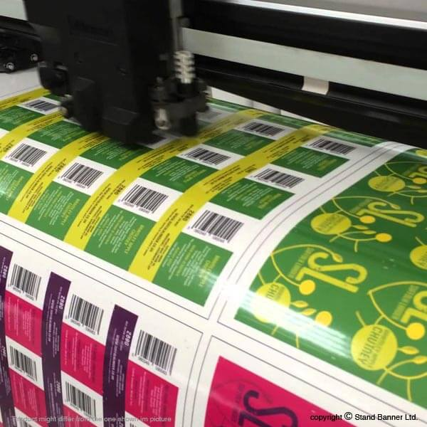 Kiss Cut Printed Labels