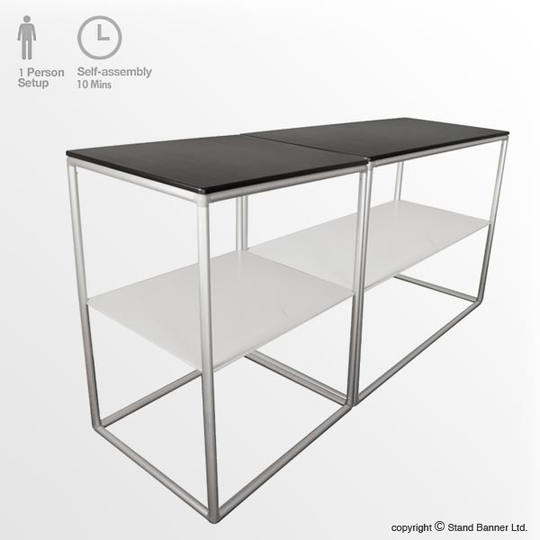 Modular Exhibition Counter Double Frame