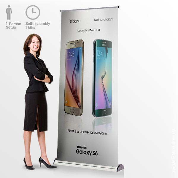 Barracuda Roller Banner Stand