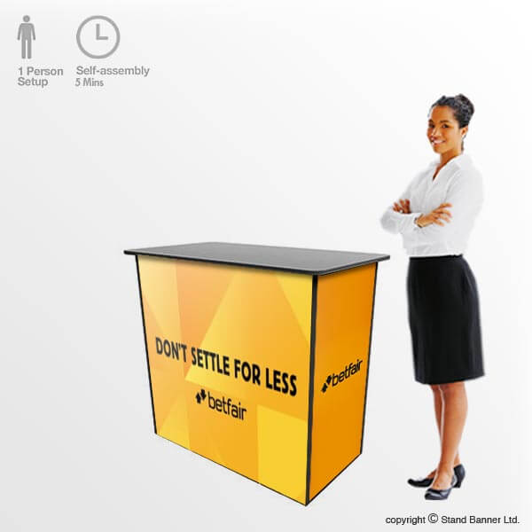 Portable Sales & Demonstration Counter