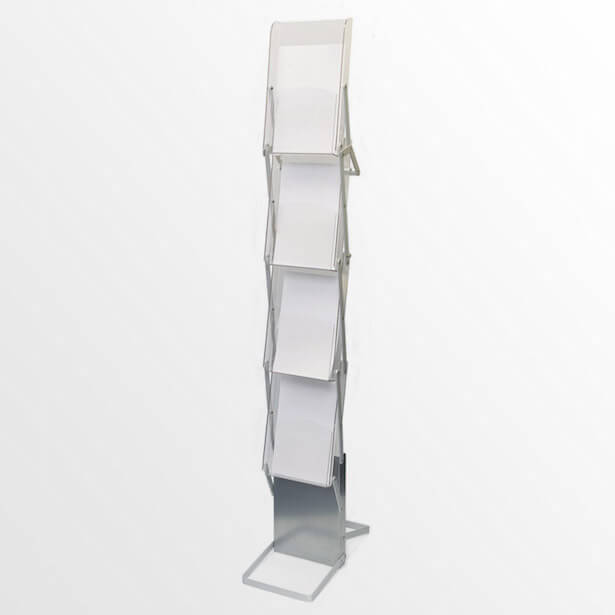 a4 lightweight literature stands