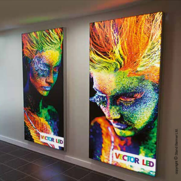 LED Retail Poster Light Box Display