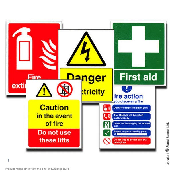 Standard Health And Safety Signs
