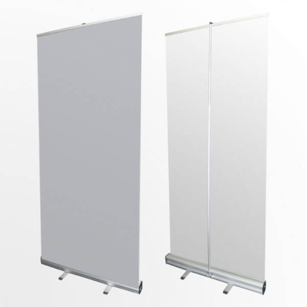 Large Portable Screen Rolled Up : Easy stand banner stands roll up pull banners