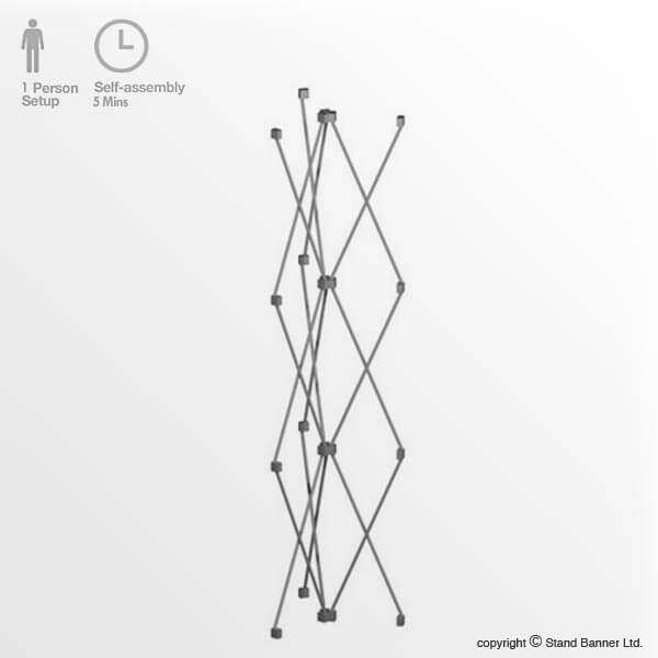 Pop Up Stand Display Tower Frame