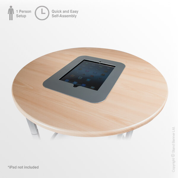 Product Display Counter iPad Holder