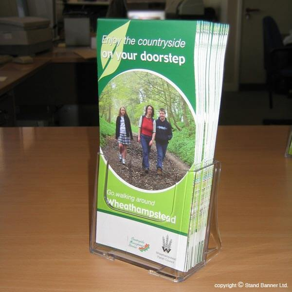 Acrylic Dl Leaflet Dispenser