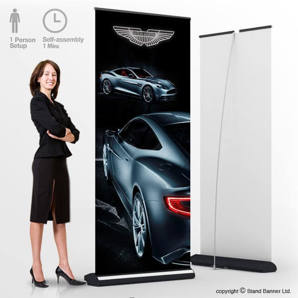 Deluxe Roll Up Banner Stands