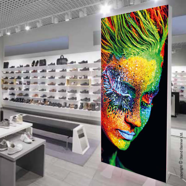 Custom Exhibition Stand Year : Large format led lightbox illuminated retail display