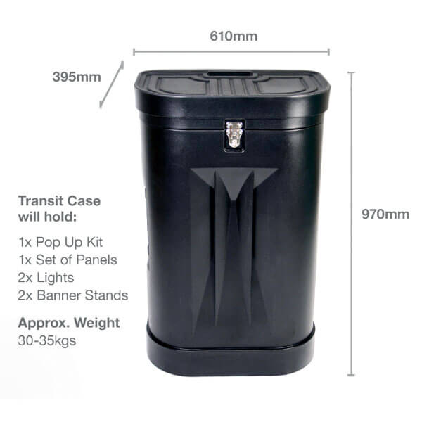 Transit Case Dimensions