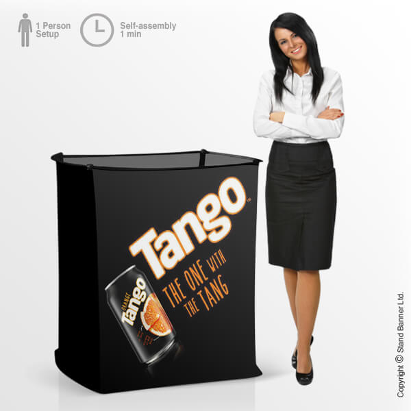 Branded Fabric Container Bin