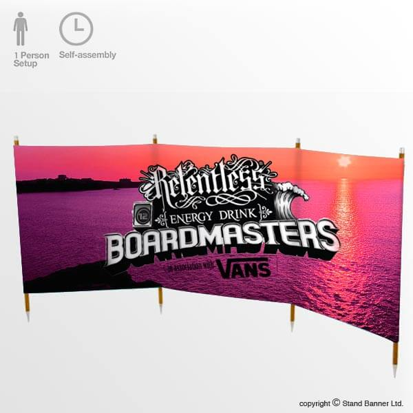 Branded Windbreak