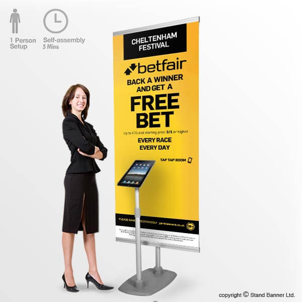 Marketing Exhibition Stand Goals : Ipad stand banner display promotional marketing app system