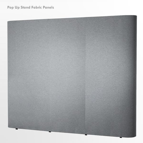 Pop Up Stand Fabric Panels