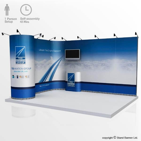 4m x 3m Pop Up Stand System