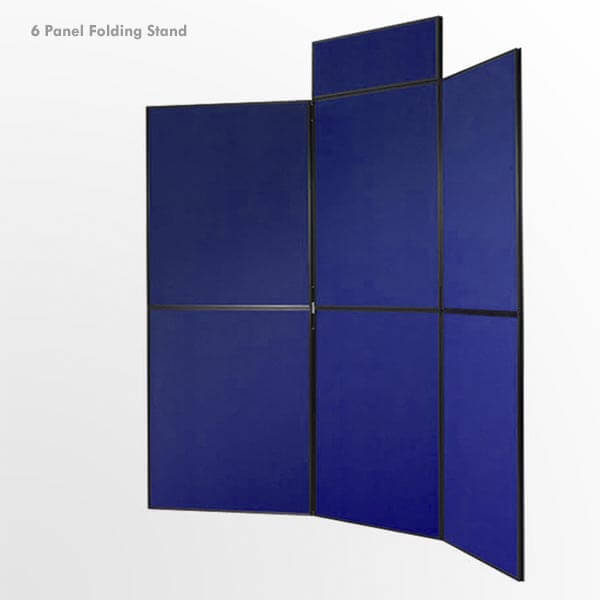 6 Panel Folding Stand