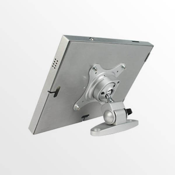 Locking iPad Holder Case / Rear View