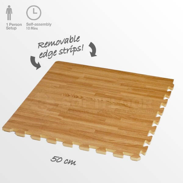 Wood Exhibition Flooring Tiles