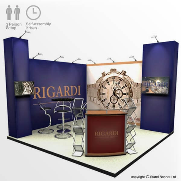 Trade Fair Display - 4m X 4m