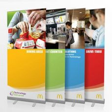 Trade Price Banner Stands