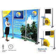 Portable Marketing Screen